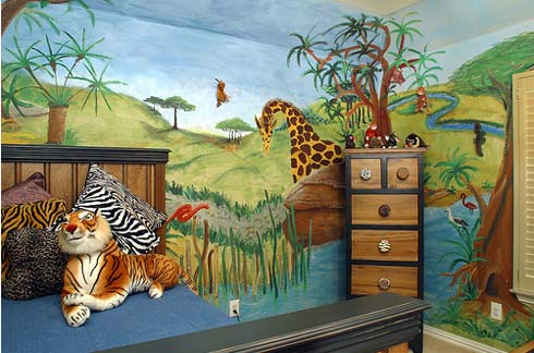 Animal Theme Bedroom for Kids