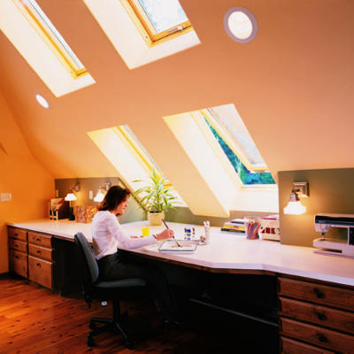 Awning skylights