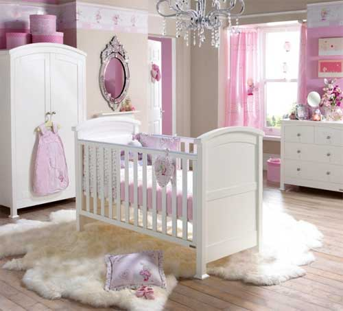 Image of: Baby Girl Nursery Idea