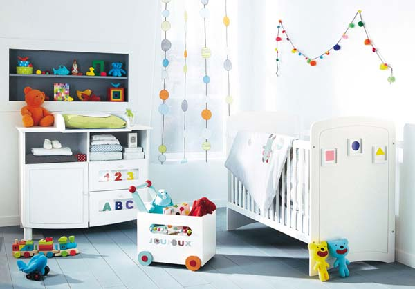 Image of: Baby Room Decorations
