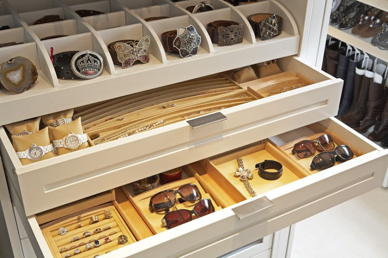 Bamboo Jewelry Drawer Organizer