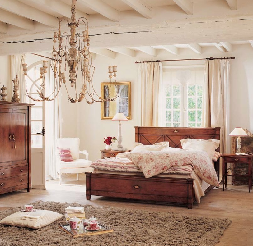 Image of: Bedroom Design in Modern Classic Rustic