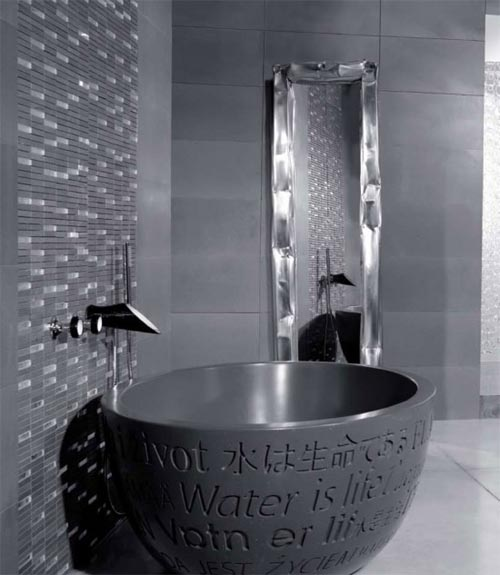 Black Luxury Bathroom Design