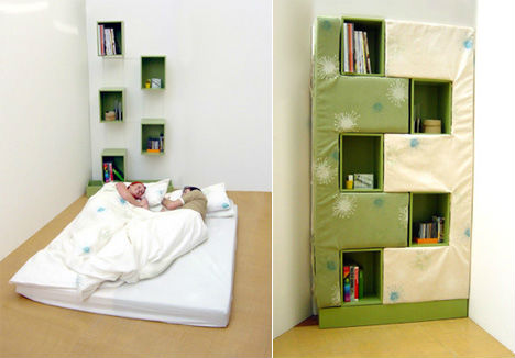 Image of: Bookcase Bed