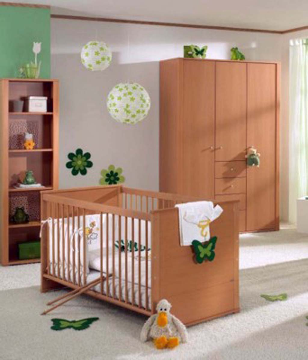 Image of: Brown Baby Room Decor