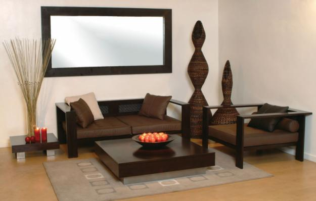 Image of: Brown Rattan  Home Furniture