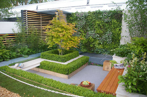Image of: Chic Modern Garden