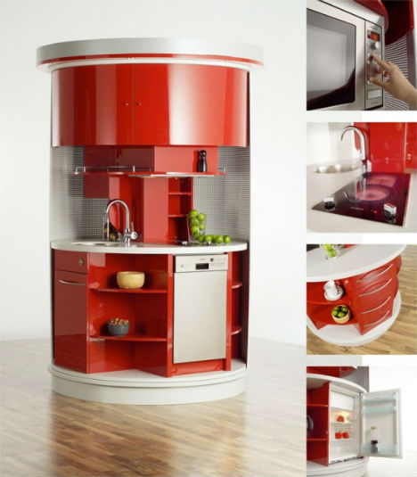 Image of: Circle Kitchen