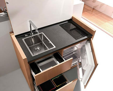 Image of: Compact Kitchen