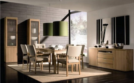 Image of: Contemporary Dining Room Interior Design
