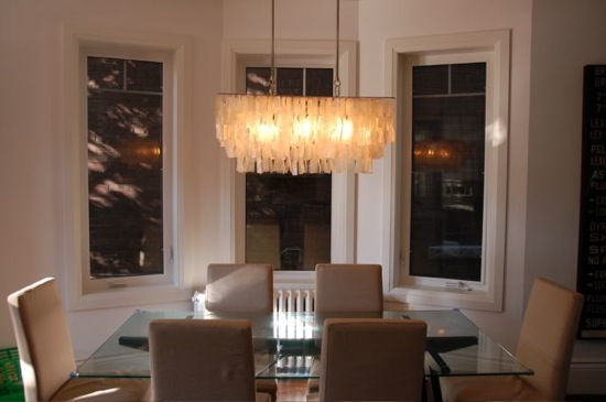 Image of: Contemporary Dining Room Lighting