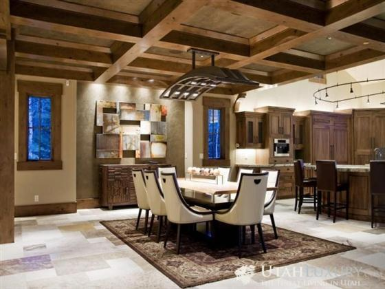 Contemporary Rustic Style Home Design
