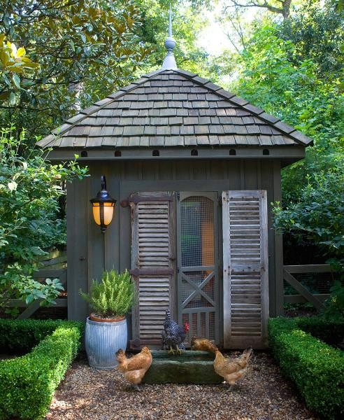 Image of: Cool Backyard Shed
