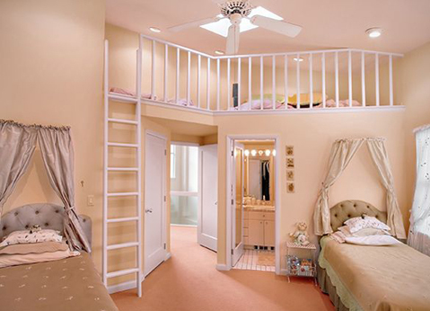 Image of: Cool Canopy Bedroom