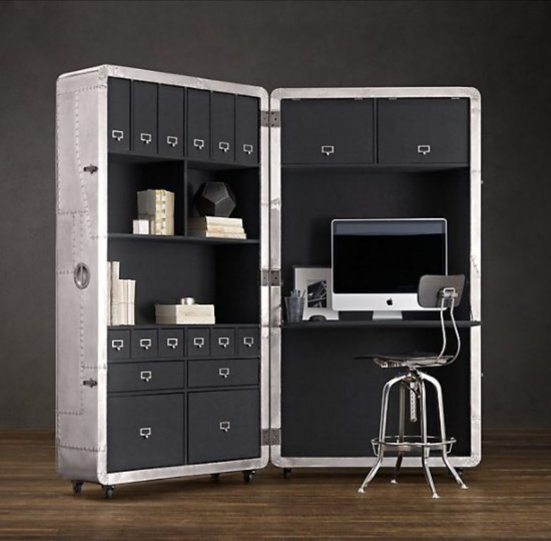 Image of: Cool and Space Saving Office Design
