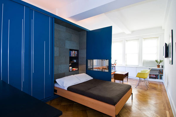 Creative Design of 41 square Meters Apartment