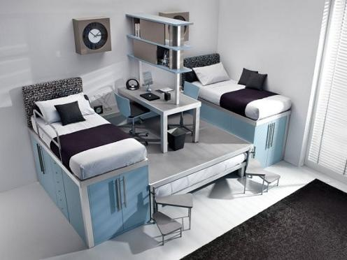 Creative Furnishing Idea for Small Spaces