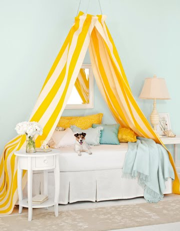 Image of: DIY Bed Canopy for Girl