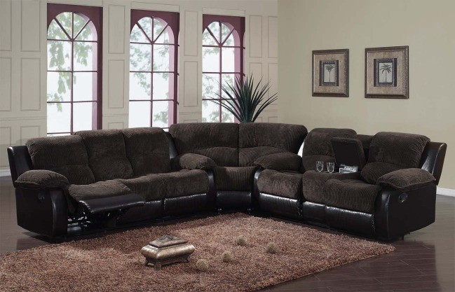 Image of: Dark Brown Sofa Furniture