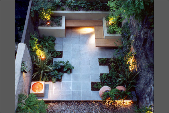 Design of Minimalist Garden Stle