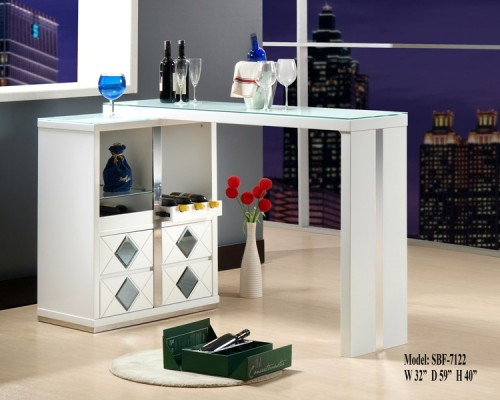 Image of: Diamond Home Bar Counter