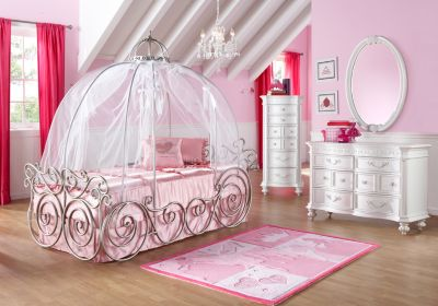 Image of: Disney Princess Carriage Bed