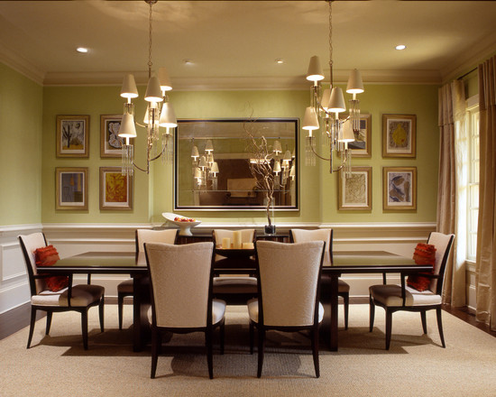Image of: Eclectic Dining Room Design