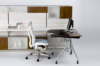 Image of: Elegant Furniture for Small Office