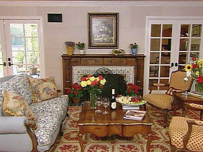 Image of: French Style Living Room