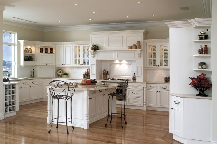 French Country Kitchen Interior Decor