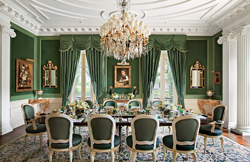 French Interior Design for Dining Room