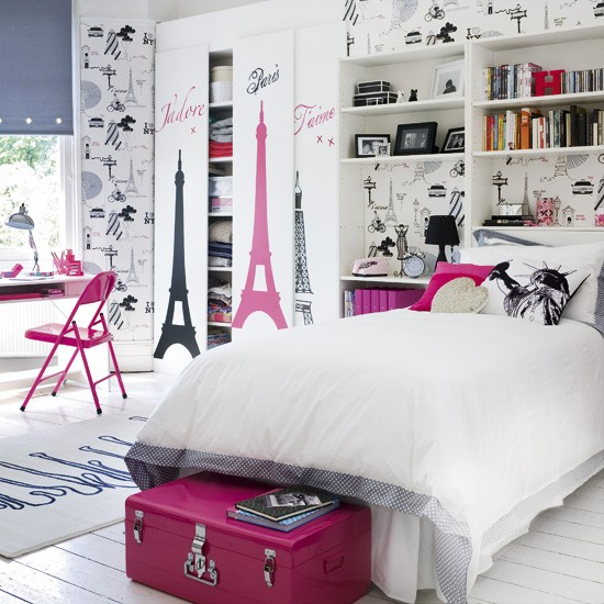 Image of: Funky Teen Bedroom
