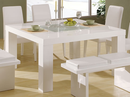 Image of: G020 White Kitchen Table