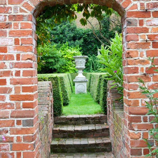 Image of: Garden Pathway Narrow Plot