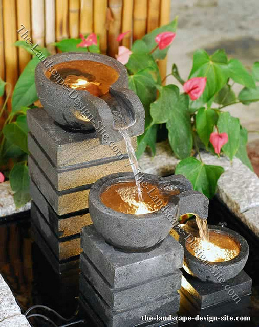 Image of: Garden Water Fountain
