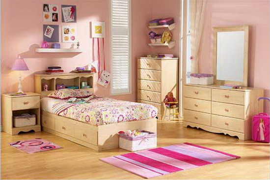 Image of: Girls Bedroom Furniture