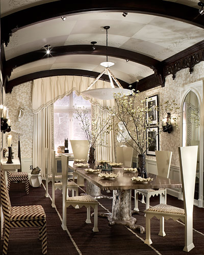 Image of: Gothic Interior Design