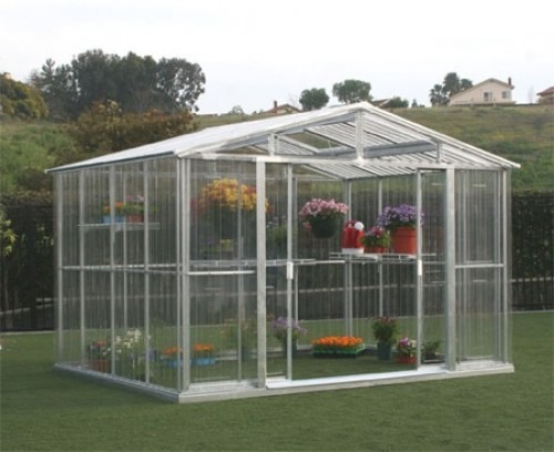 Greenhouse as Focal Point