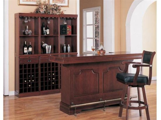 Image of: Home Bar Design Idea