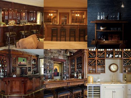 Image of: Home Bar Design Styles