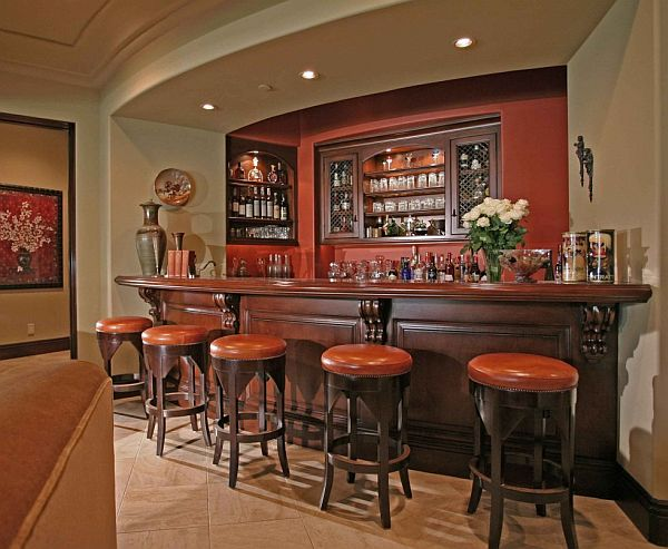 Image of: Home Bar Interior Design Idea