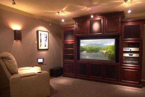 Image of: Home Theater Lighting Effect