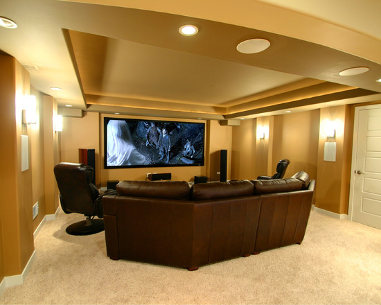 Image of: Home Theater Lighting Idea
