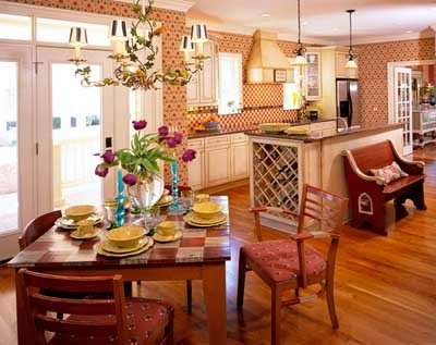 Image of: Interior Decorating of Country Home Style