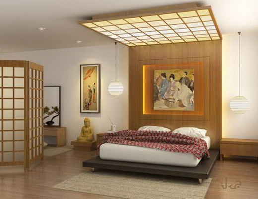 Image of: Japanese Bedroom Design