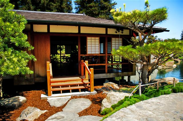 Image of: Japanese Style Home