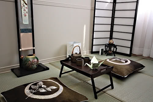 Image of: Japanese Style House Interior Design