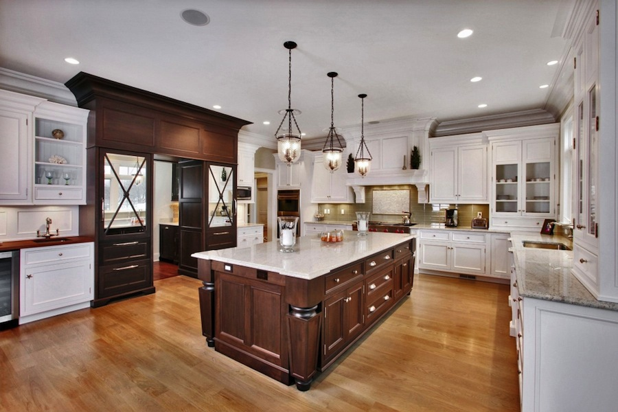 Kitchen inside the Dream Shingle Style House