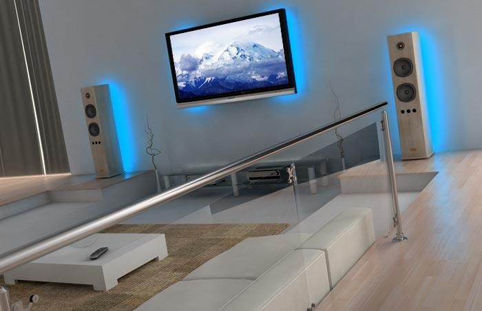 Image of: Light LED Idea for Home Theater