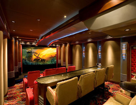 Image of: Lighting for Home Theater